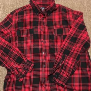 Woman's buffalo plaid shirt